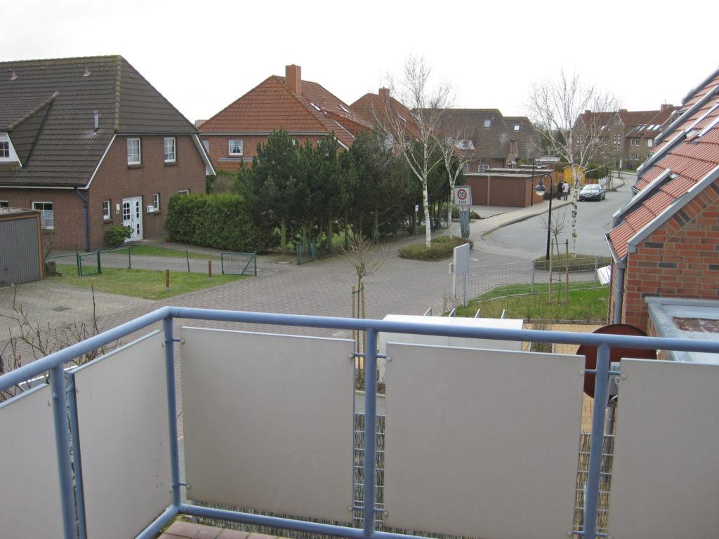Ausblick vom Balkon - Ferienwohnung Rugenbargsweg Cuxhaven